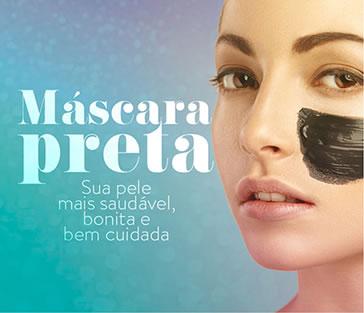 Astra Cosméticos - Máscara preta