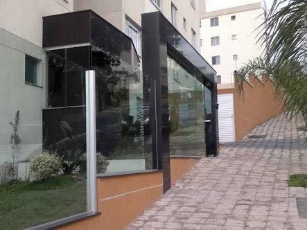 Muro em Vidro Home Vidros