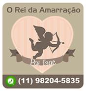Logomarca Pai Isac - Rei da Amarração em São Paulo