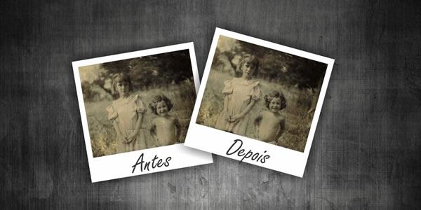 Banner Restauração de Fotos