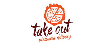 Logomarca Take Out Pizzaria Delivery